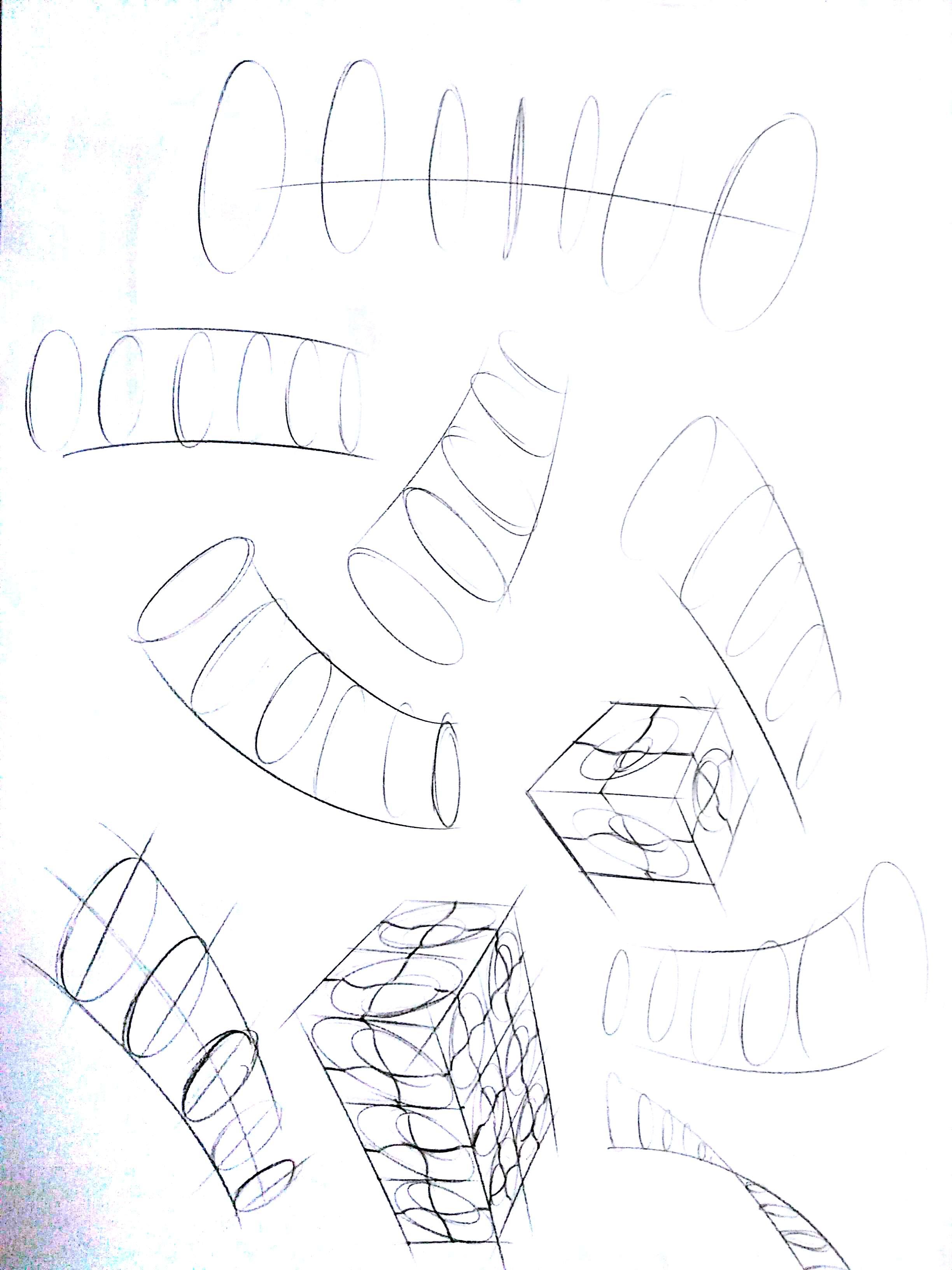 手绘集训-旋转体 方套圆 16.0|工业/产品|生活用品|林
