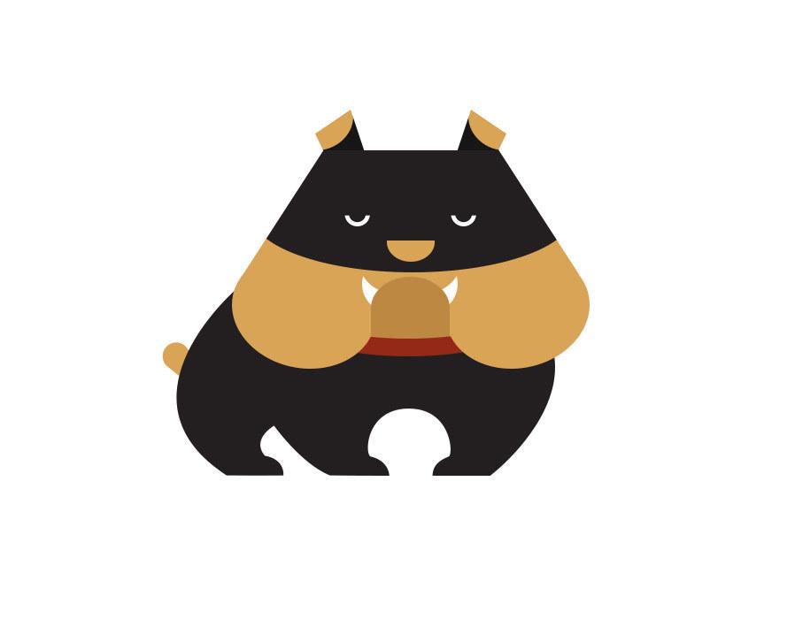 icon#恶犬临摹