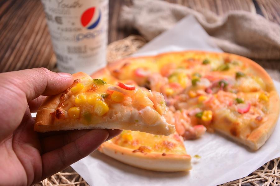可乐 鸡翅 汉堡 薯条,披萨 摄影