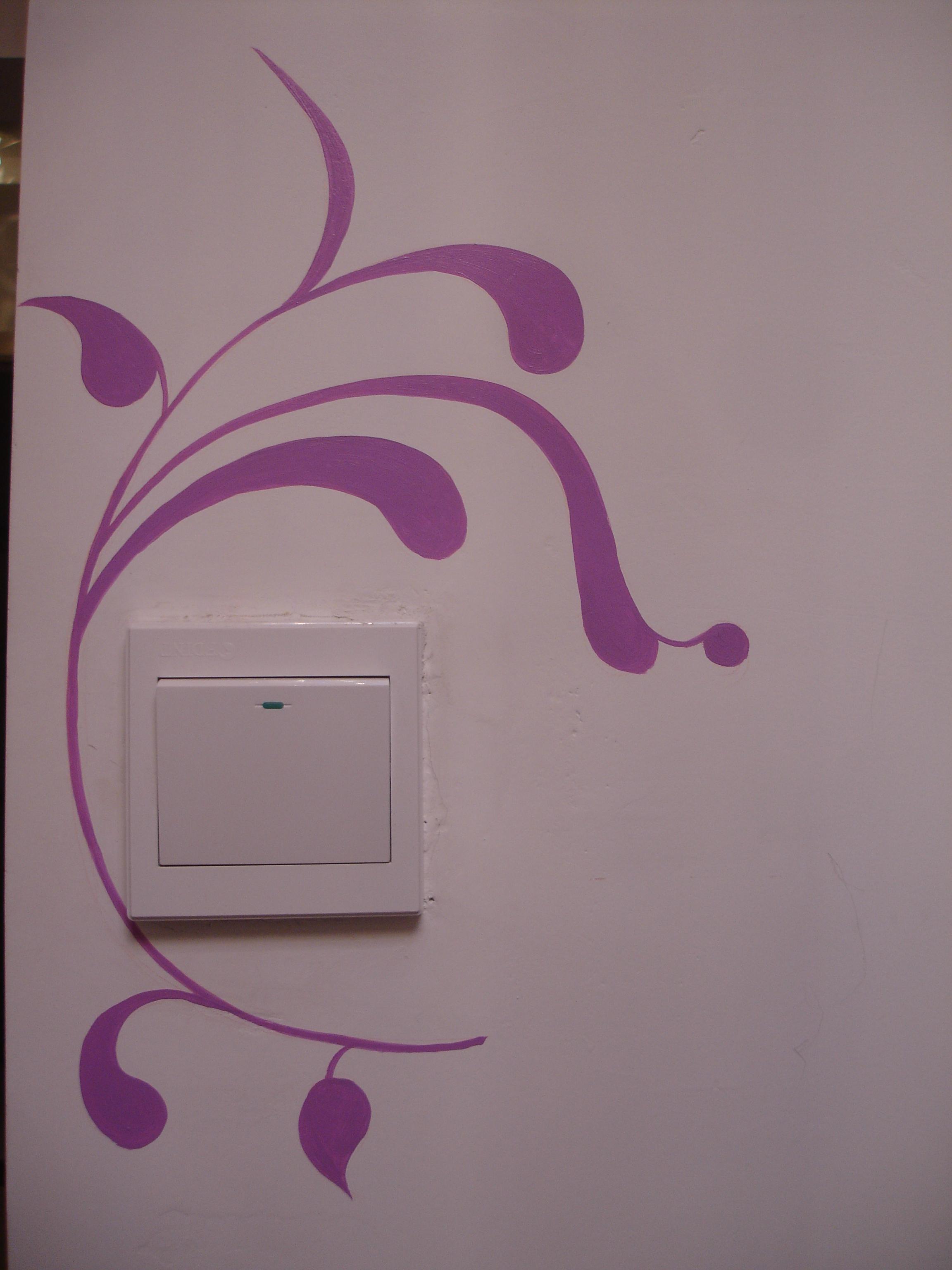 华豪丽晶的手绘墙-西安暖窝手绘墙制作