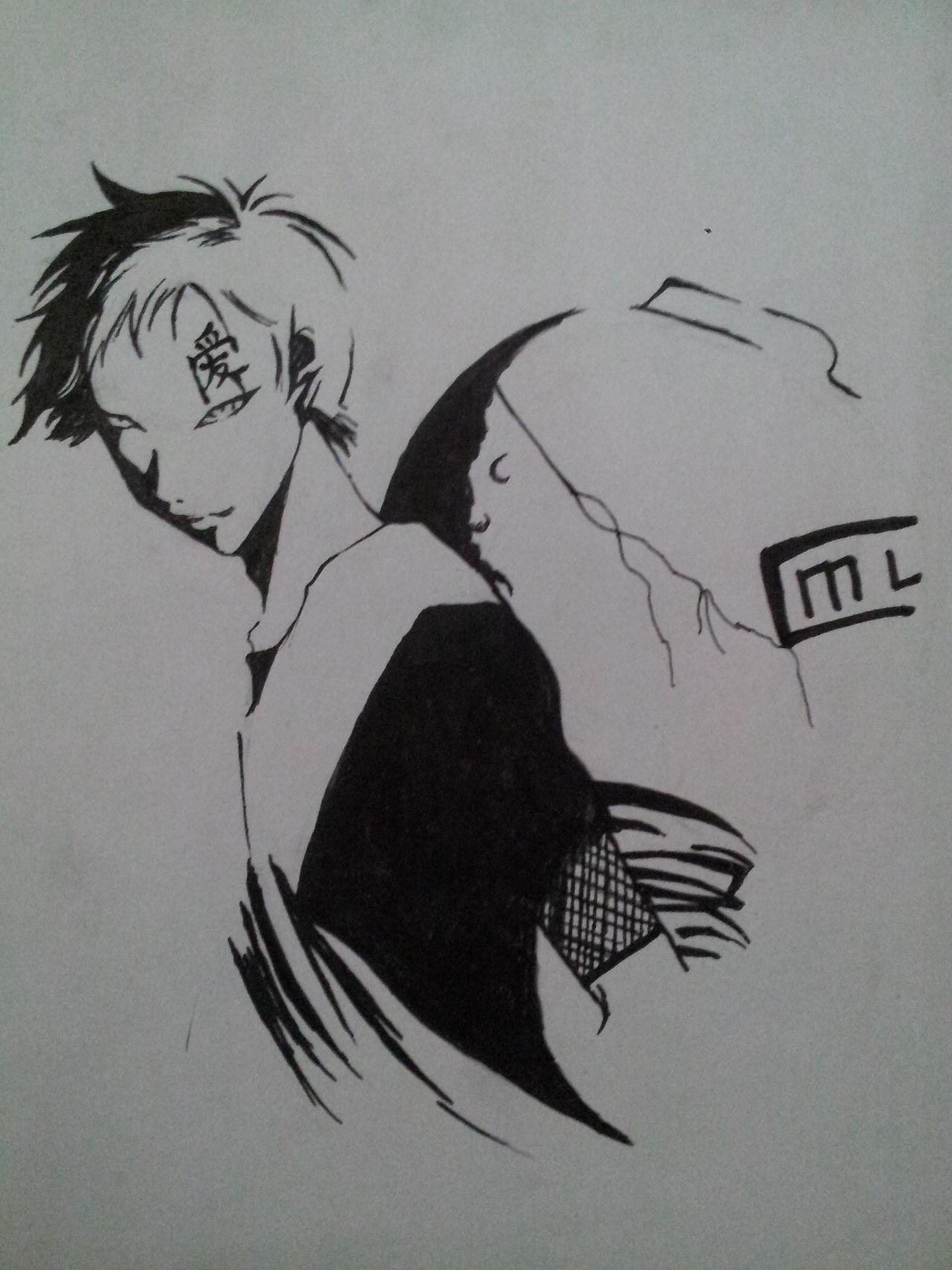 火影忍者|动漫|单幅漫画|李康逝去的青春 - 原创作品