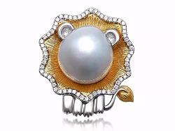 《雄狮》——异形海水珍珠 巴洛克异形珍珠
