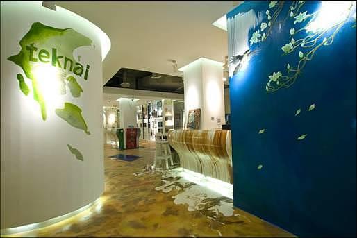 sv概念|意大利teknai&clayard概念店标志设计改良方案ppt图片
