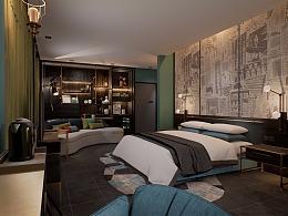 某商务酒店的VR设计方案与制作效果(一)