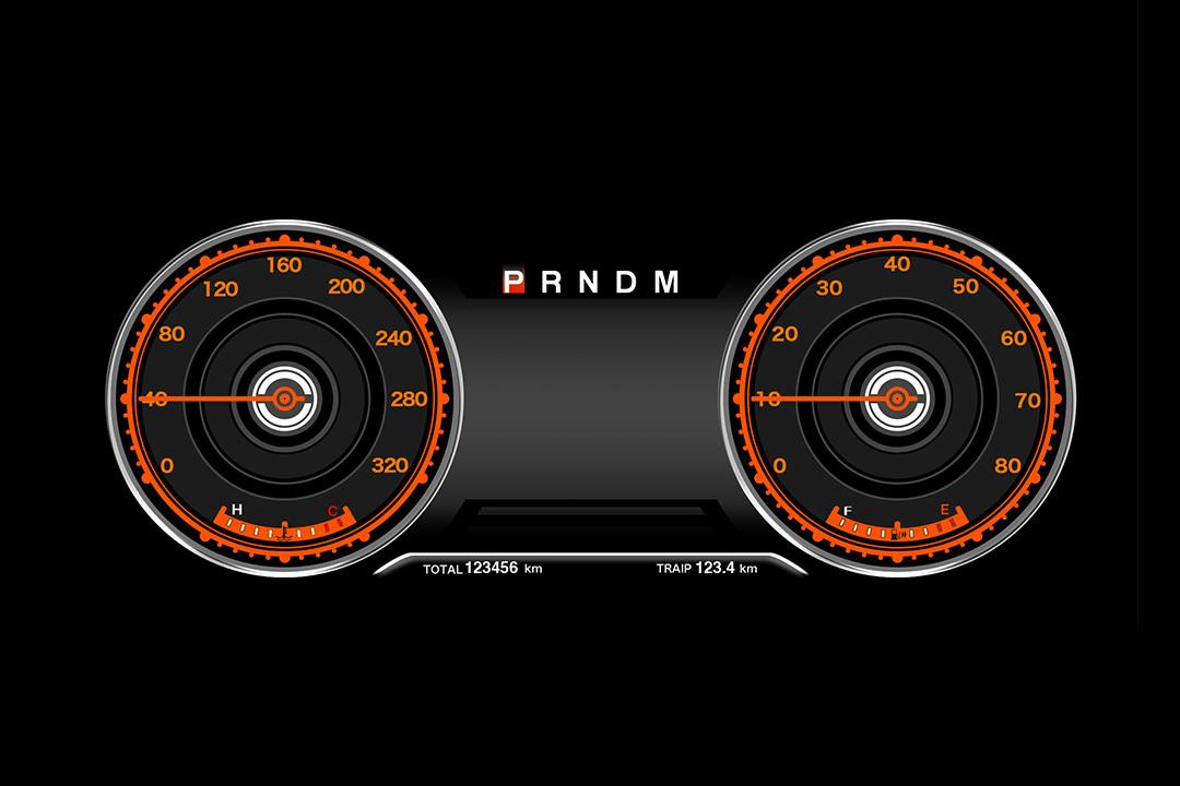 液晶仪表盘设计图片