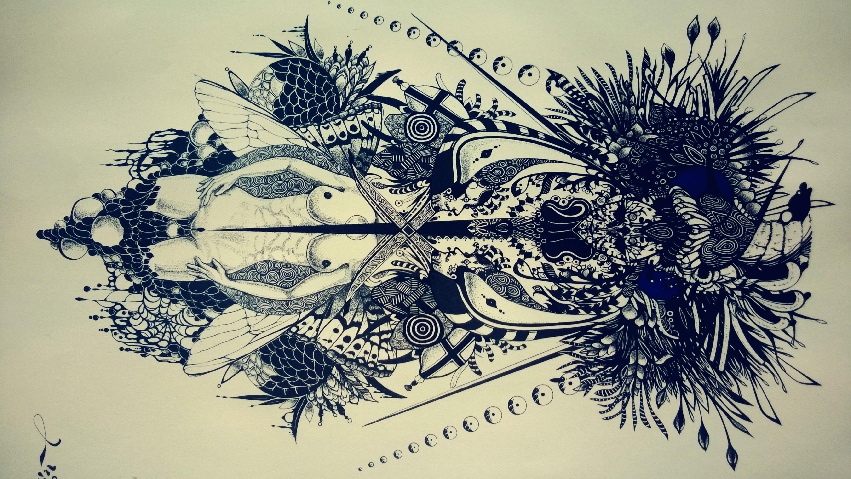 自己设计的纹身图案图片