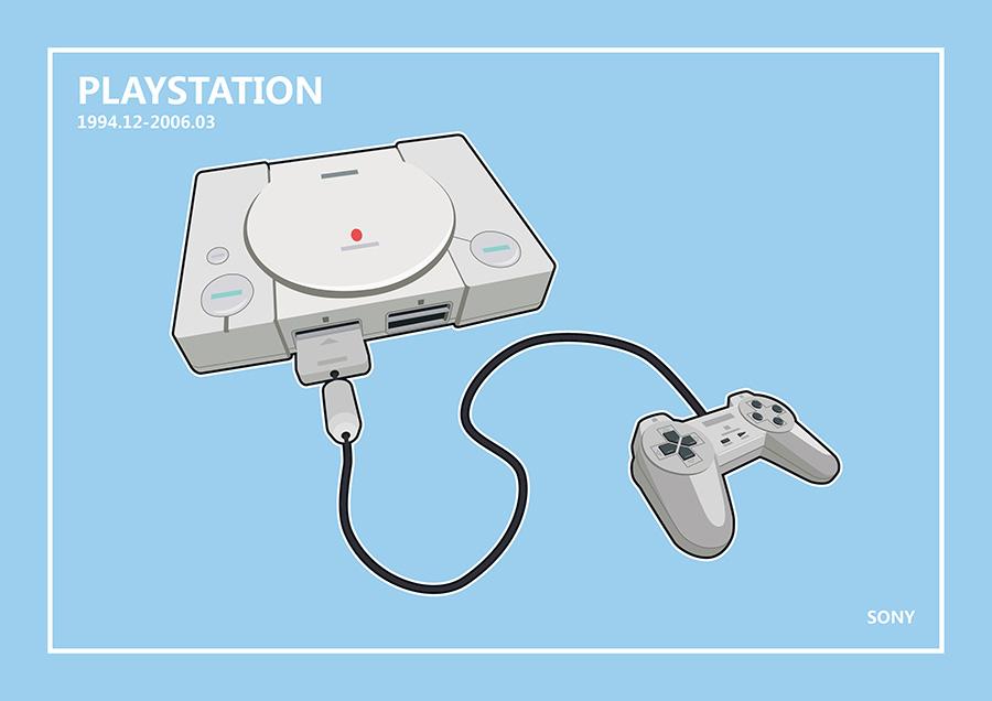 游戏机轻扁平化设计|其他GUI|UI|yashua - 原创设
