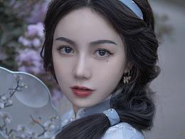 穿旗袍的茉莉公主