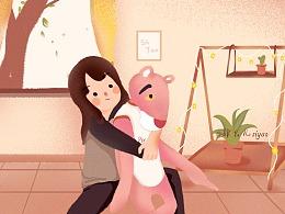粉红豹的一天