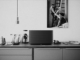 【图维设计】JBL桌面WIFI智能音箱设计