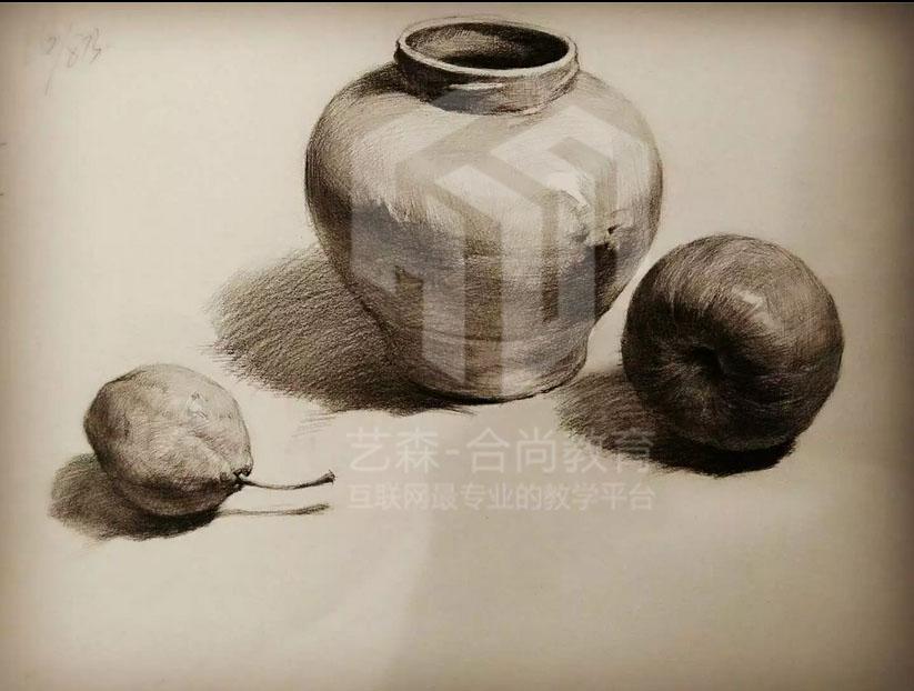 素描画 铅笔画 彩色铅笔画|墙绘/立体画|其他|大师兄