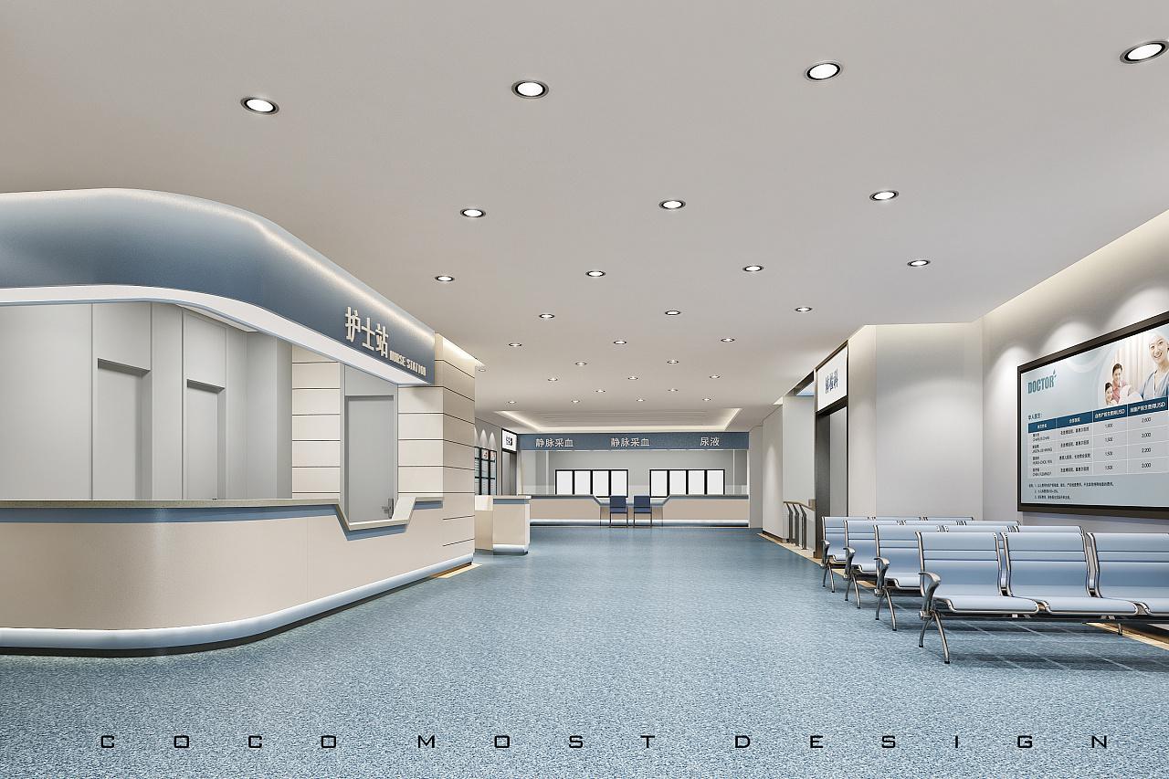武汉方泰医院|空间|室内设计|COCO帅-原创作vi室外导向牌v医院图片