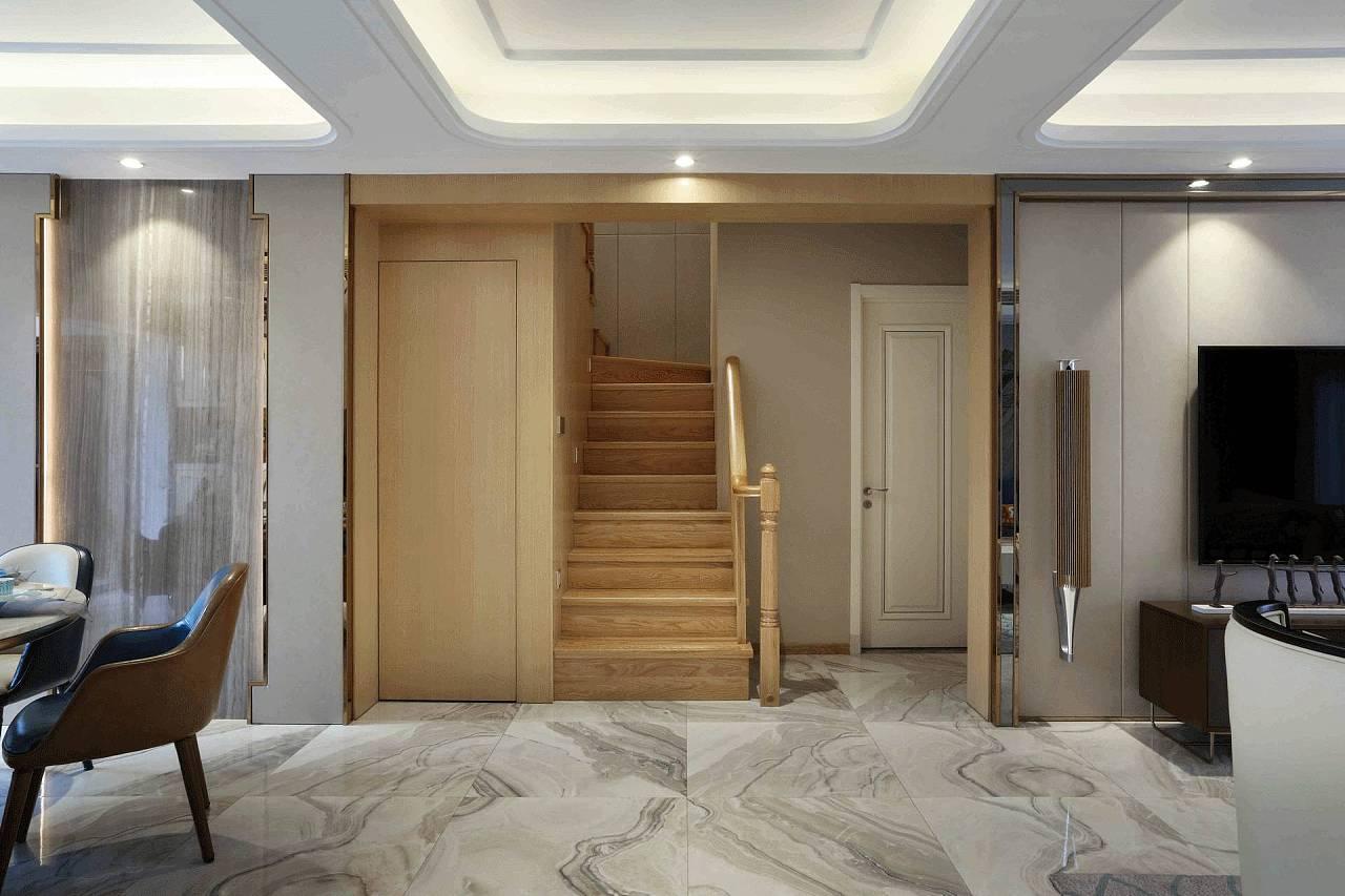 瀚海晴宇200平轻奢现代风格装修样板间设计|空间|室内图片
