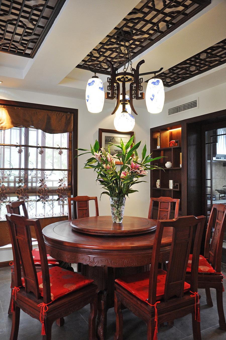 成都银杏苑中式装修风格|室内设计|空间/建筑|新空间