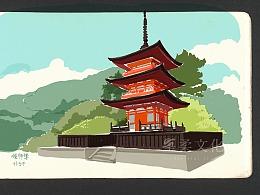 京都—大阪旅行手帐