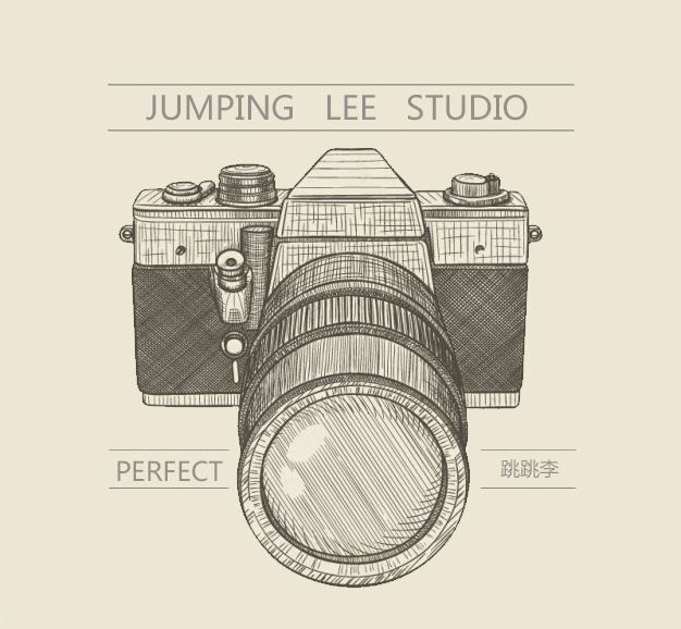 手绘相机|图形/图案|平面|跳跳李