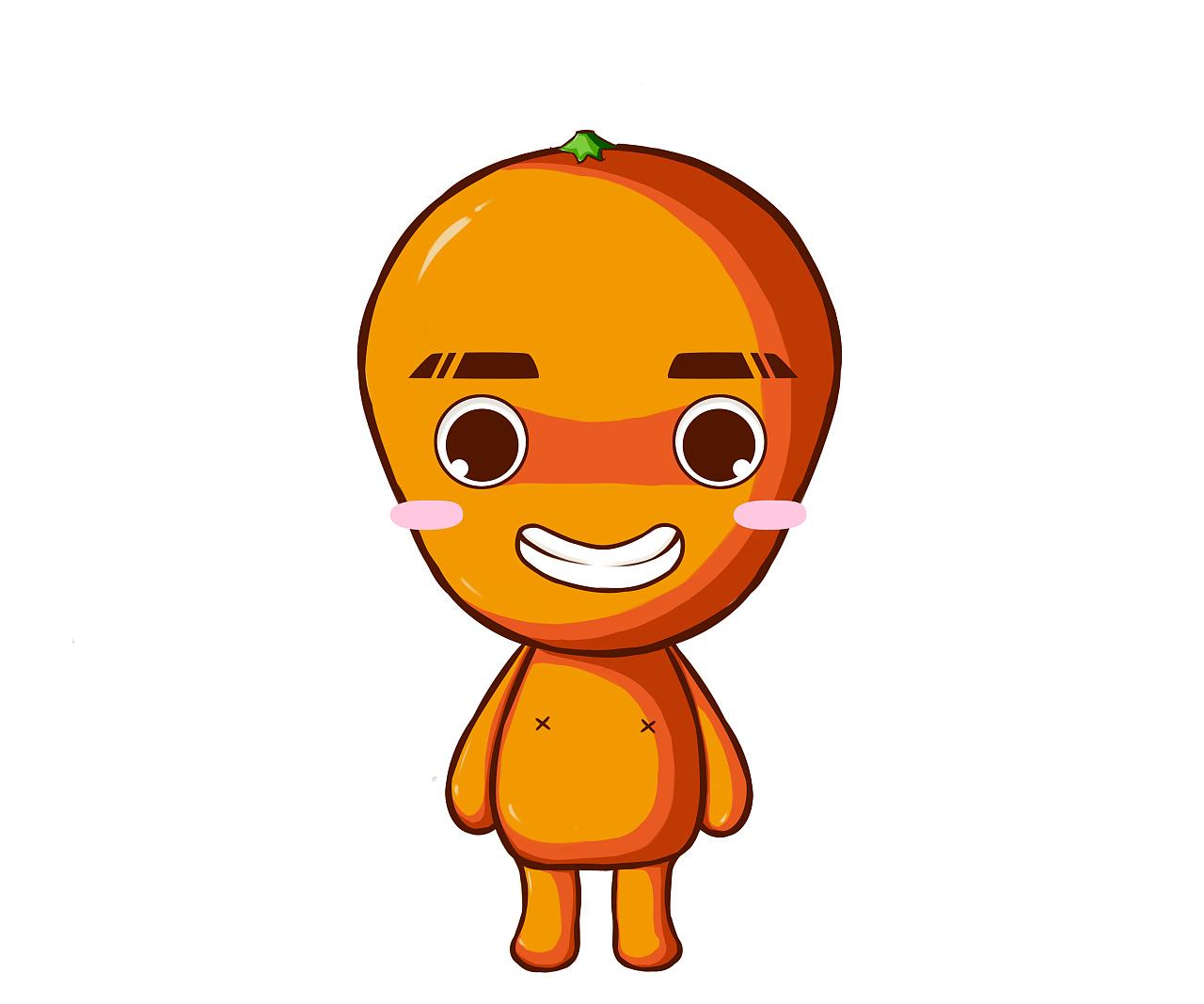 """公司吉祥物""""橙橙""""图片"""