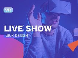 VR Live Show/VR秀场直播UIUX设计