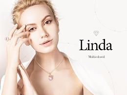 珠宝电商品牌设计/详情页/首页/专题页/网页/海报设计