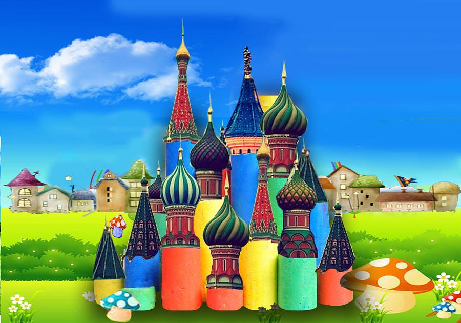 原创作品:童话城堡