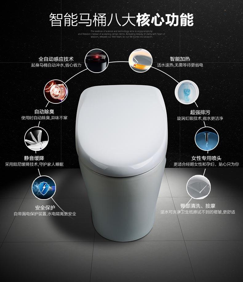 卫浴场景 智能马桶海报设计