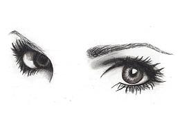 【驴大萌彩铅教程271】人像五官素描速写眼睛