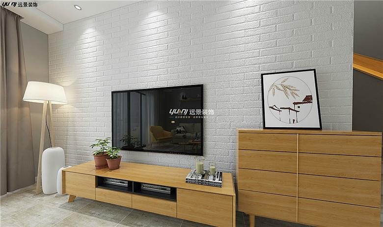 保利山庄海棠洋房装修案例-设北欧风格设计效果图-远景装饰地址
