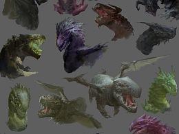 龙类设计练习