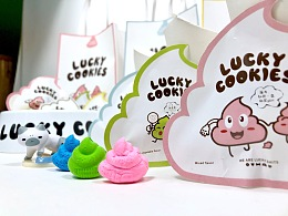 宠物包装设计lucklycookies好运气宠物饼干
