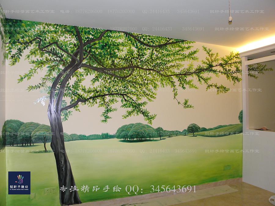 手绘墙|墙绘/立体画|其他|懿轩手绘墙