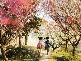 春天的爱与诗意 如何给孩子拍摄春日花季写真