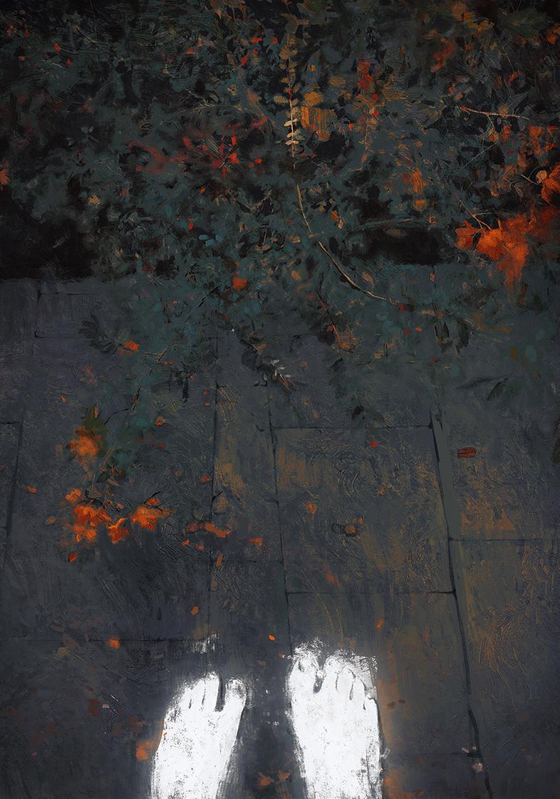 查看《花园》原图,原图尺寸:786x1122