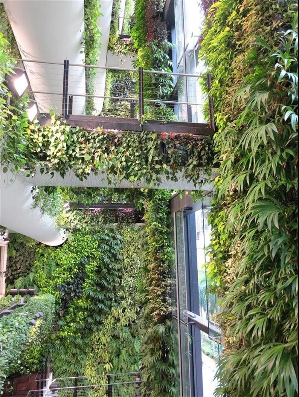 新加坡极具代表性垂直绿化设计案例赏析 空间印象眼界