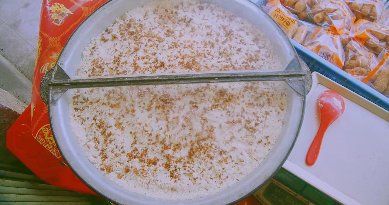 【老街三合石狮古早味福瑞面】永宁意老糕点嵊州美食节图片
