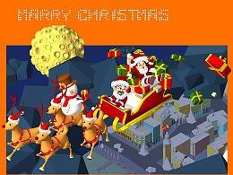 圣诞贺卡——祝大家圣诞节快乐