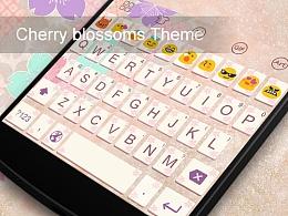 【键盘主题第二弹】Cherry blossoms