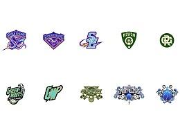 OCTOPUS ZX个人美式运动类logo设计集合