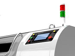 双扭式高速绞线机设计 机械设备 人本造物广州工业设计
