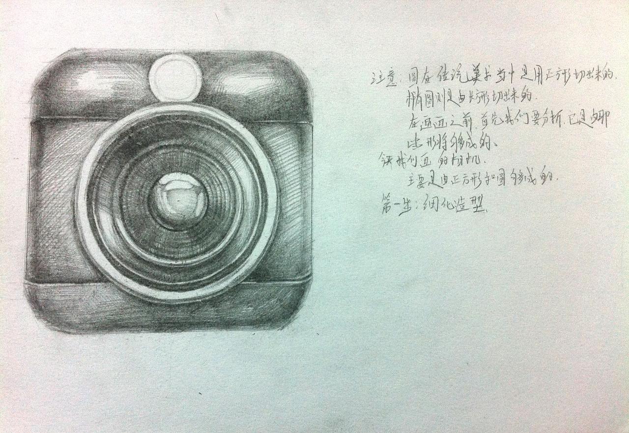 手绘相机步骤