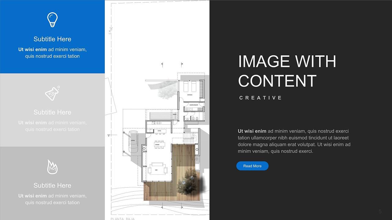 建筑设计方案汇报ppt模板图片