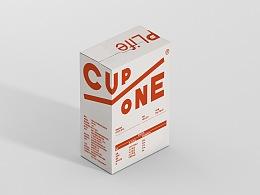 Cup One 挂耳咖啡包装设计