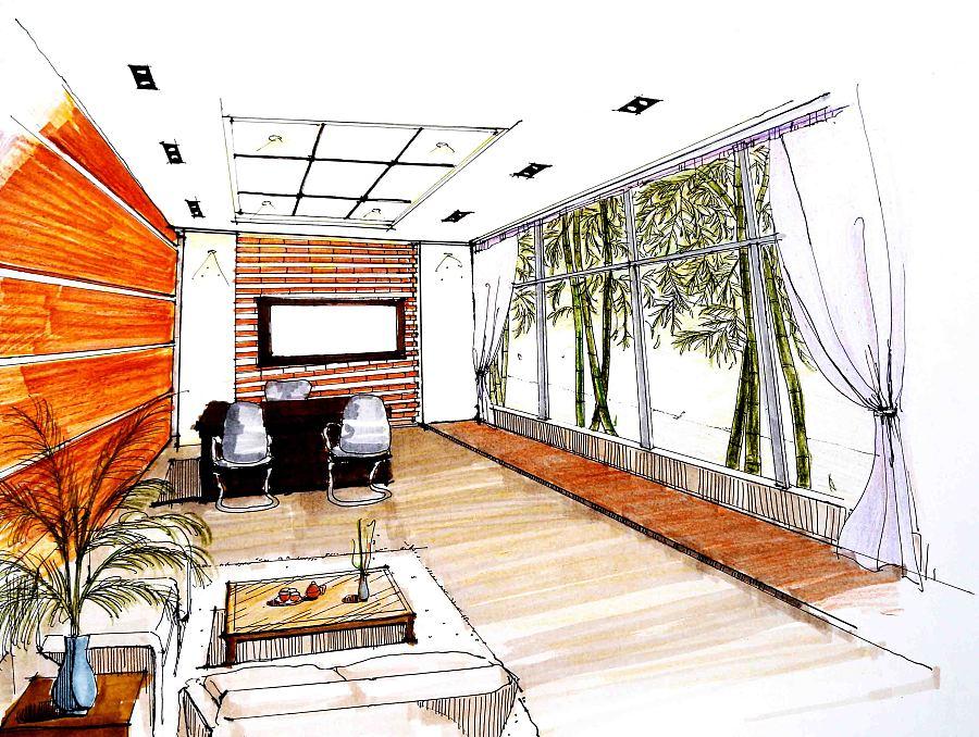 室内办公室设计