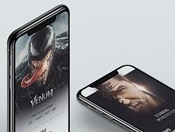Venom 2018 - offical website reDesign Concept by 梁定然_海南