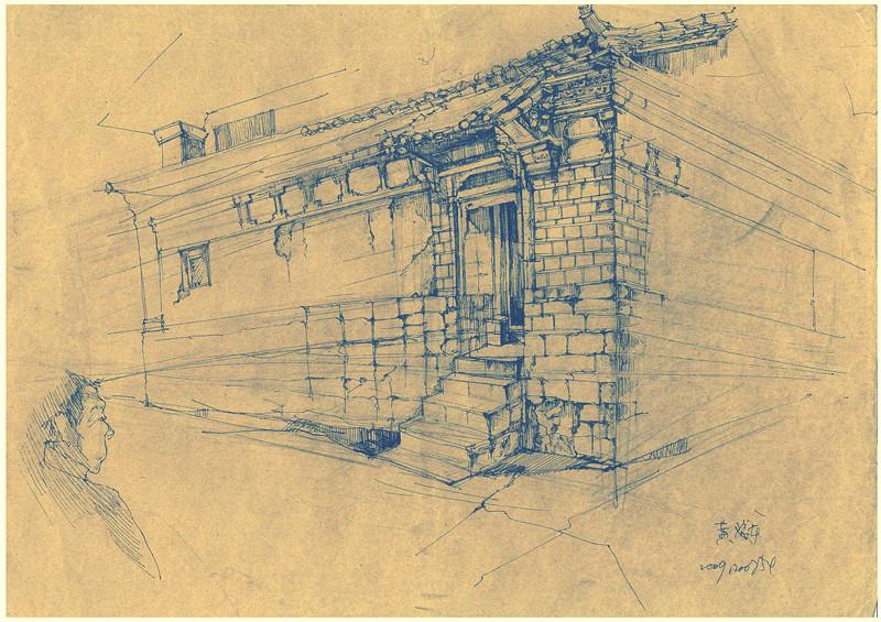 丽江古城手绘||插画|forme2001