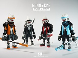 "Monkey king 8"" sport X series"