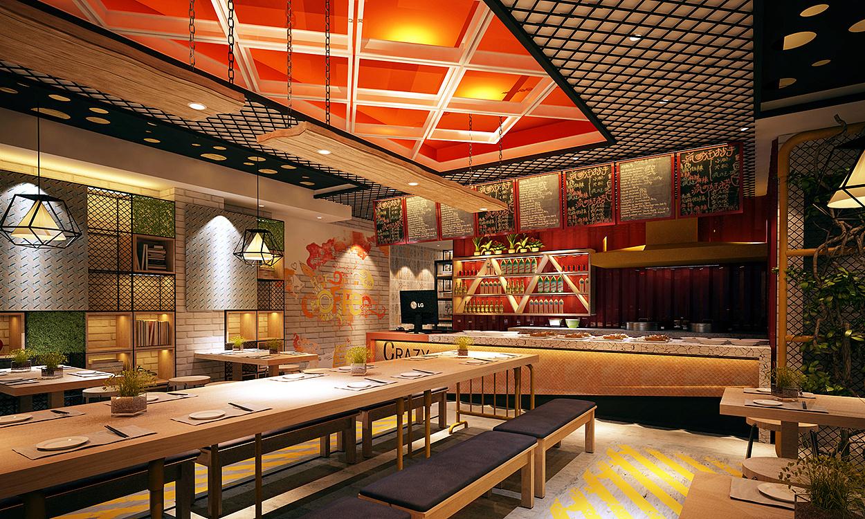 小飞设计:a餐饮酱餐饮全案策划&设计(太原图片品牌设计小型门诊设计装修骨头图片