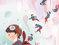 系列插画-《冬》