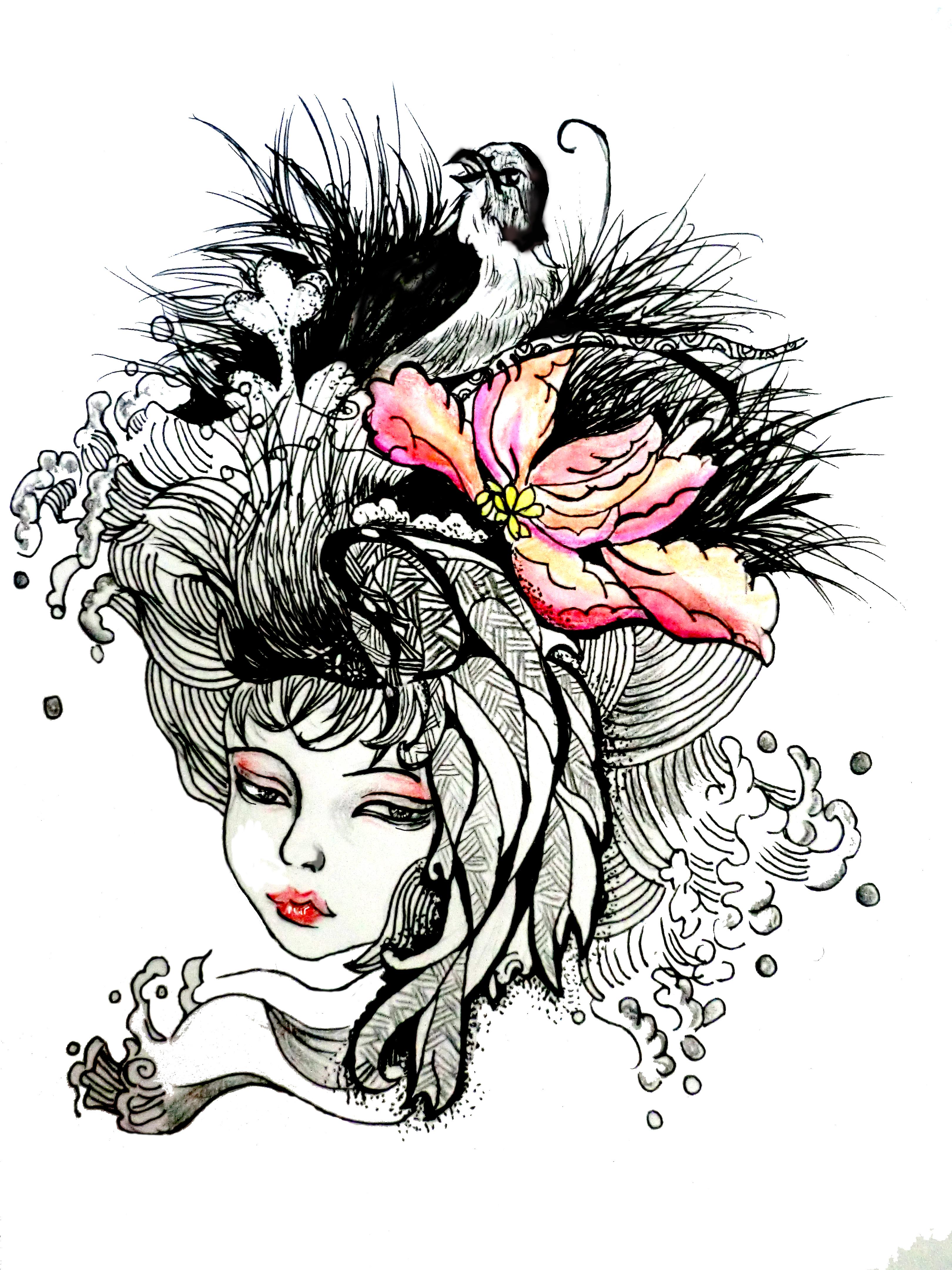 手绘插画|插画|商业插画|刘蕊w - 原创作品 - 站酷