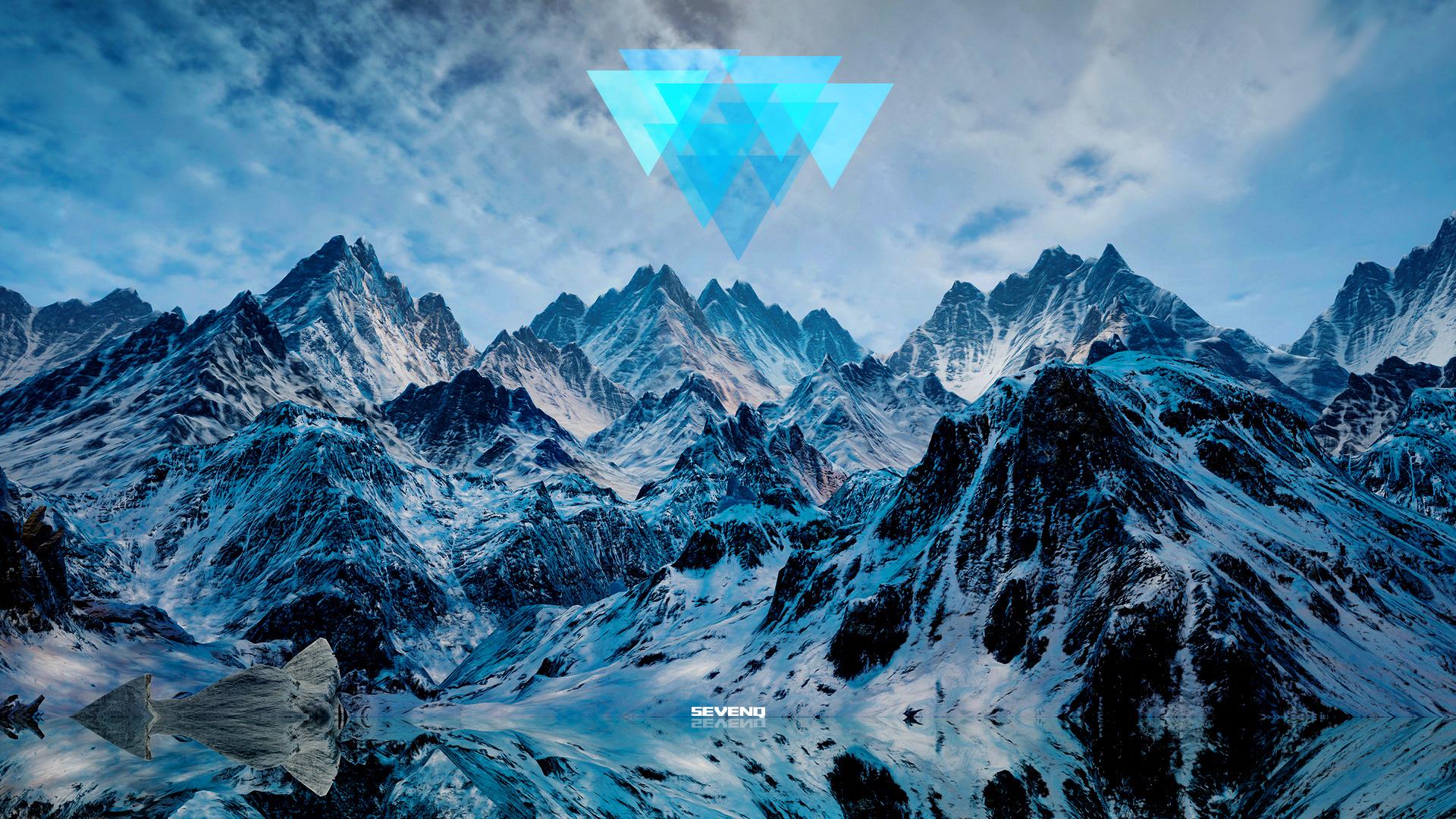 雪山(桌面壁纸1920x1080分辨率)图片