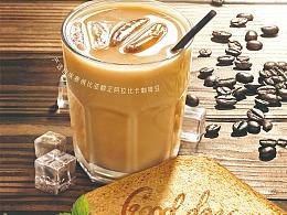 两款 冰咖啡 海报